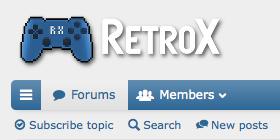 RetroX Forums